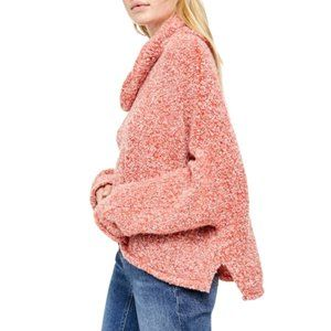 NEW Free People BFF Hi-Low Cowl Neck Sweater